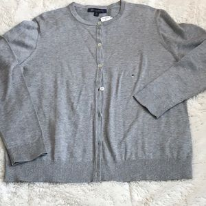 Gray Button Cardigan Brooks Brothers. NWT